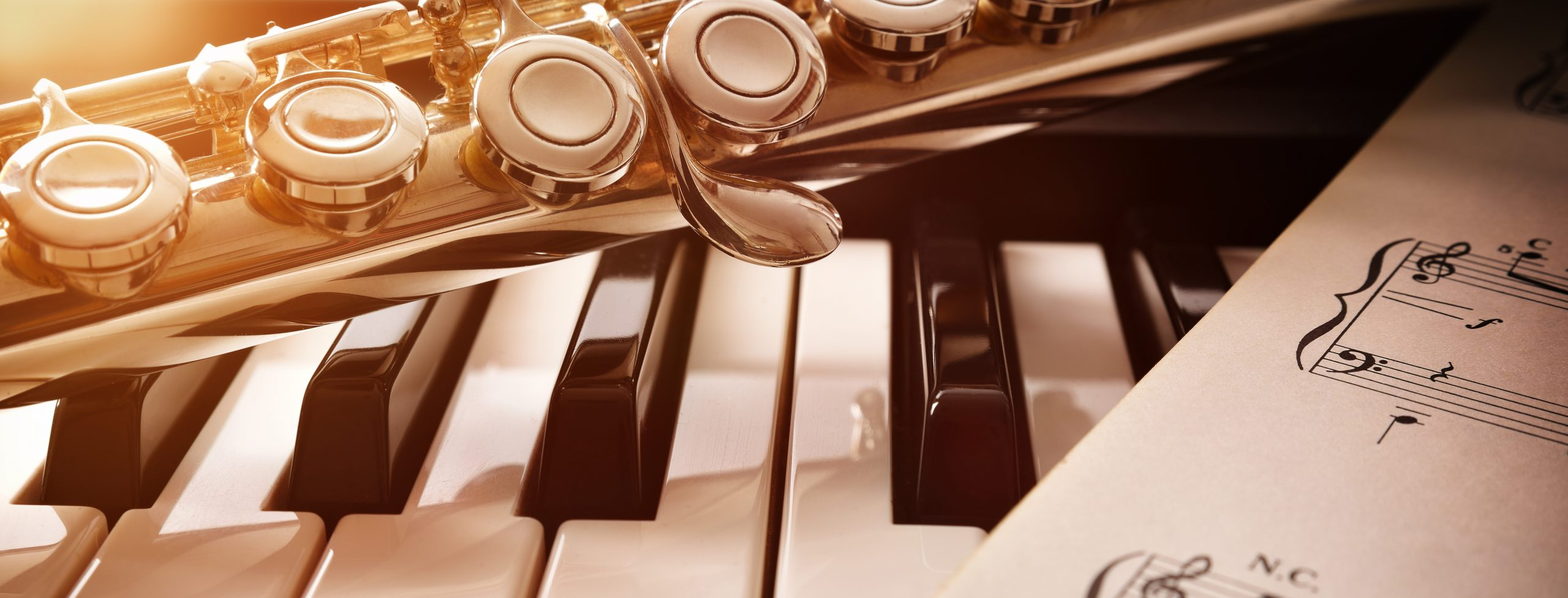Flute and Piano Image Banner 1
